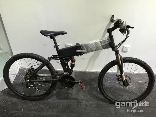 转让二手 锂电山地自行车