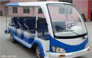 珠海东之尼5座蓝色电动观光游览车