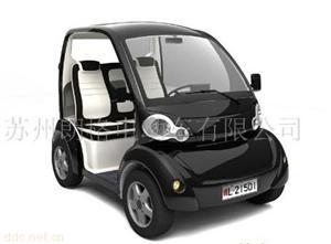 苏州朗格黑色款时尚电动汽车