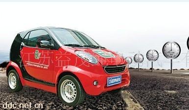 茂红星小贵族锂电池纯电动轿车 江苏益茂纯电动汽车高清图片