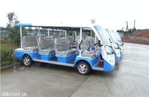 深圳亚维克14座豪华封闭电动公交车