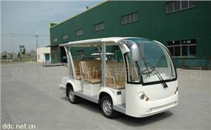 EG6088K白色8座电动观光车
