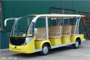 益高11座电动旅游观光车