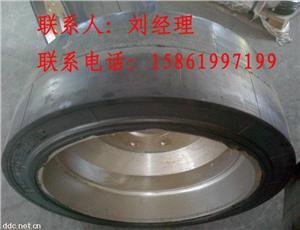 专业生产实心轮胎、配套轮辋