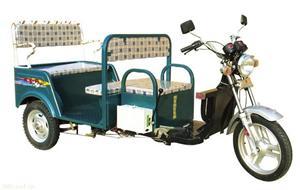 60V120AH双人座休闲载客电动三轮车