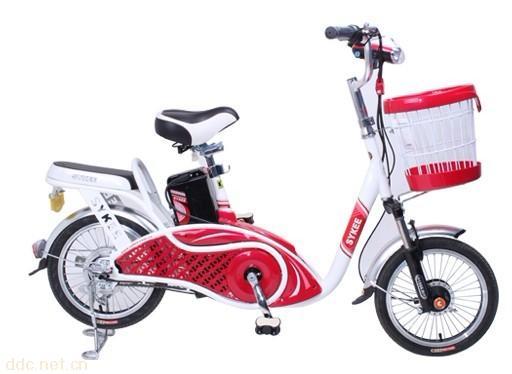 天津赛克虞美人电动自行车