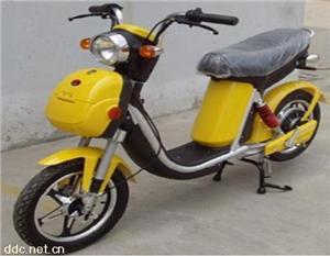 JOY-QS侨爱黄色电动摩托车