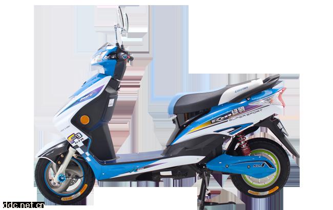 绿驹电聚鹰电动摩托车