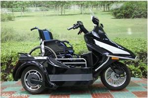 遥控载轮椅重度残疾人电动专用车