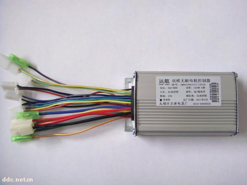 万源6管350w双模无刷电机控制器
