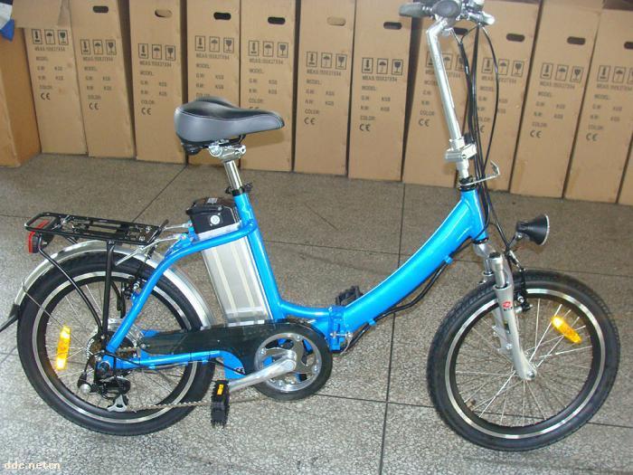 折叠式电动自行车cf-tdn02z