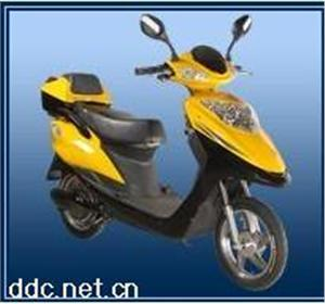 天津黑马350W玲珑电动摩托车