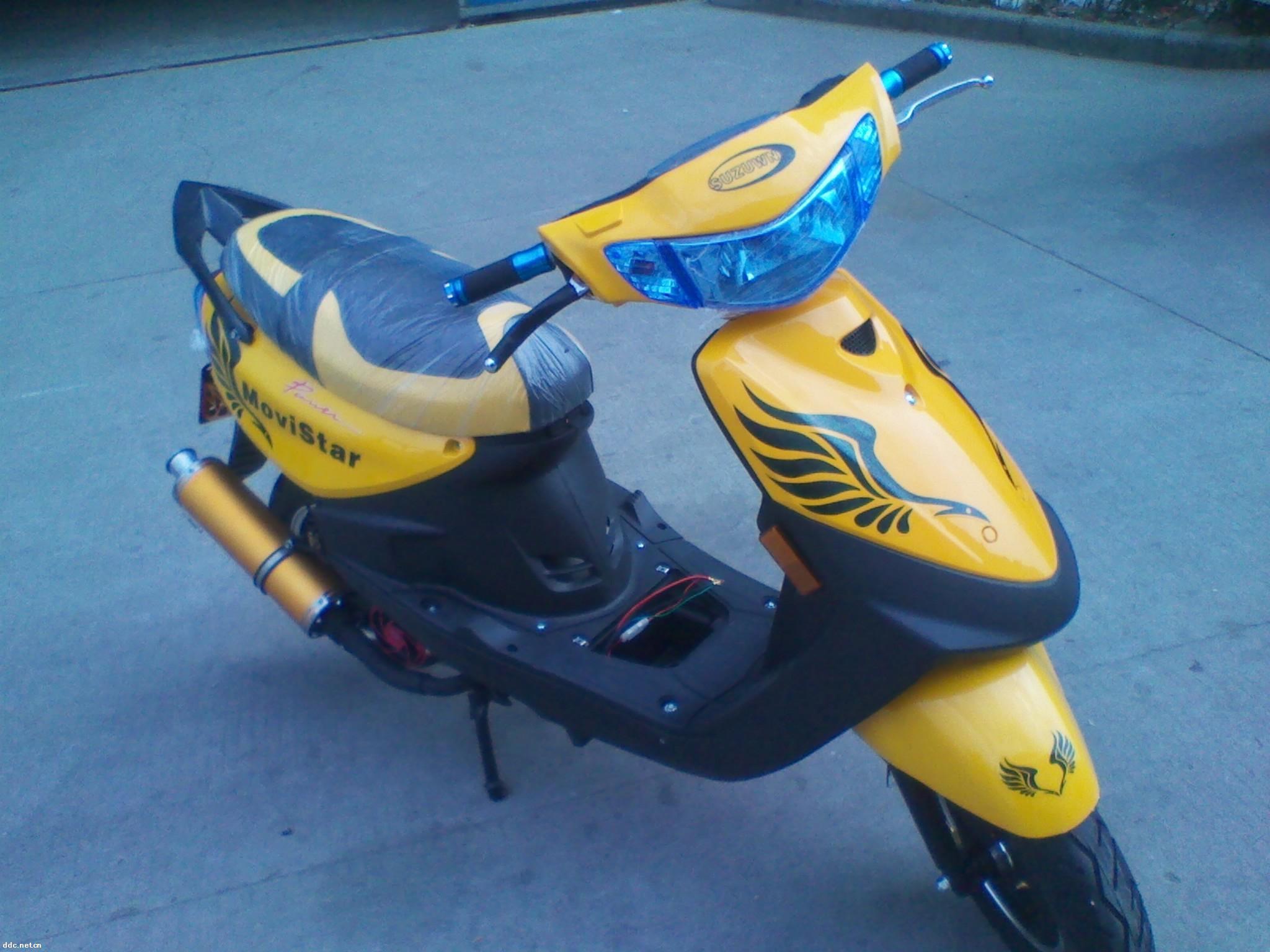 嘉陵本田牌巧格款电动摩托车