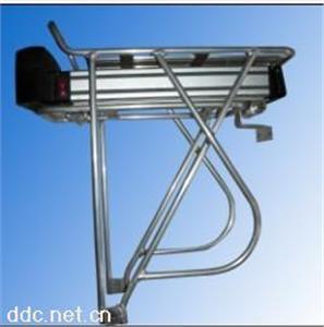 锂电动车铝合金后衣架,载物架