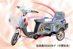 金凤凰3000ZB-F三轮电动休闲代步车
