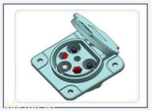 电动四轮车专用充电插座
