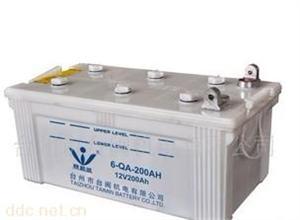 厂家直销6-QA-200AH汽车蓄电池