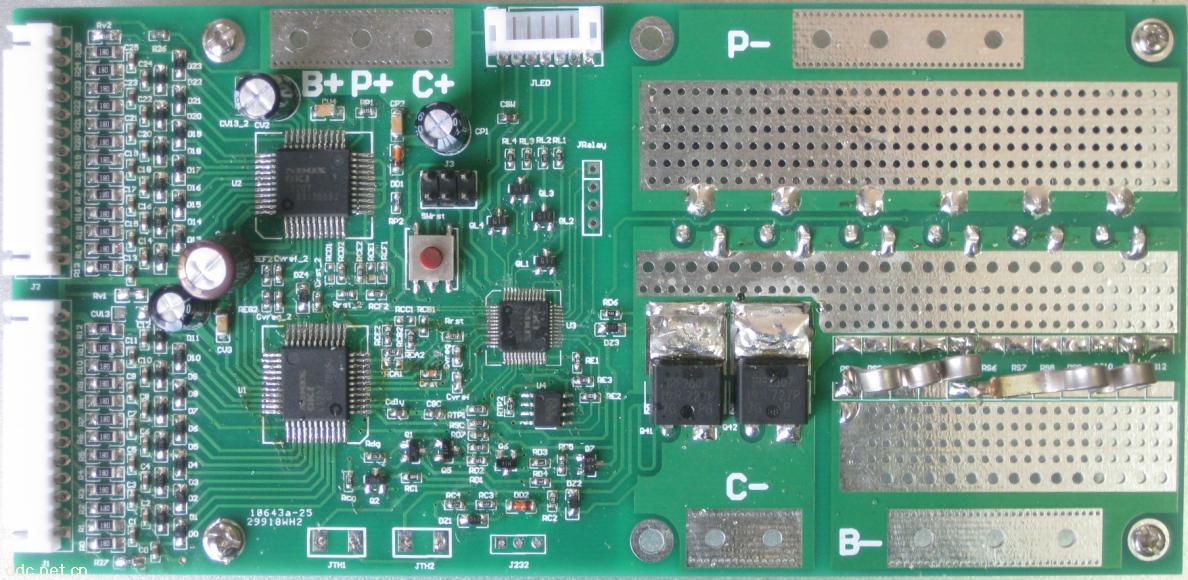 16串-24串通用锂电池保护板