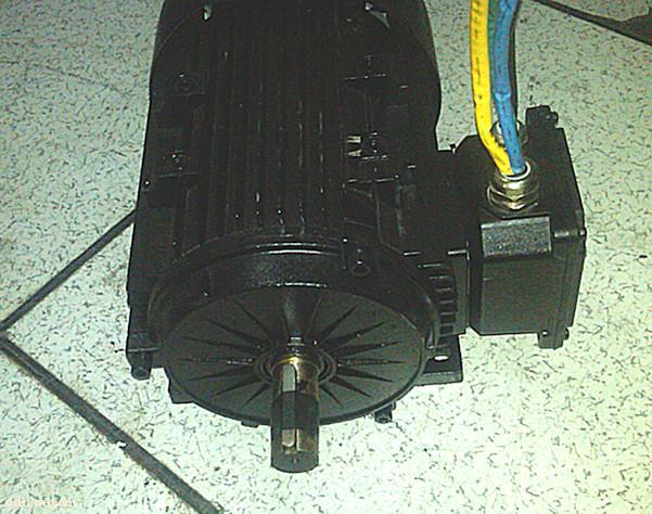 永磁无刷直流牵引电机72v6kw-常州永沛机电技术有限
