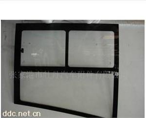 客车车身钢化玻璃