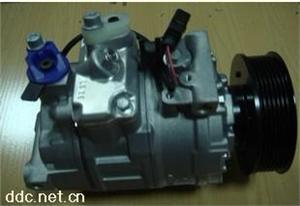 奥迪A6L自动调节汽车空调压缩机