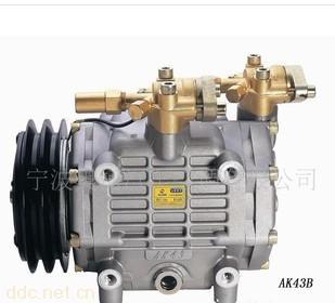 大客车斜盘式定排量汽车空调压缩机ak43b