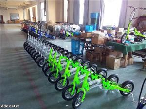 升特牌厂家直销一秒折叠电动自行车