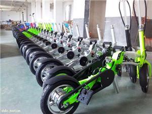 厂家直销学生用折叠电动自行车,高档锂电池折叠自行车
