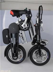 36V锂电折叠电动自行车