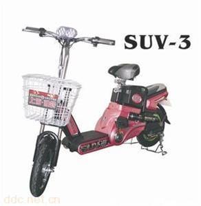 雅鸽48V350W迷你简易电动自行车