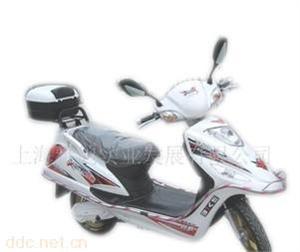 350W雅鸽猎鹰银色单人电动摩托车