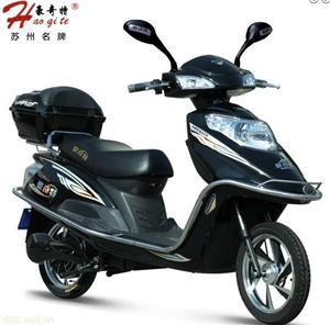 豪奇特风尚电动摩托车