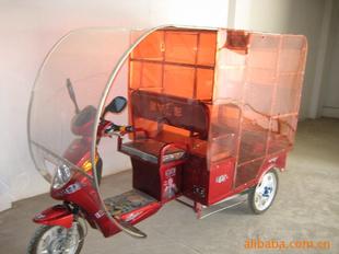 不锈钢电动货车三轮车遮雨篷-昆明市官渡区酷帅-电瓶车雨棚 电动车雨