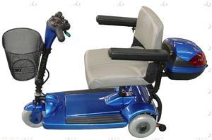 霸途大型三轮中老人电动代步车