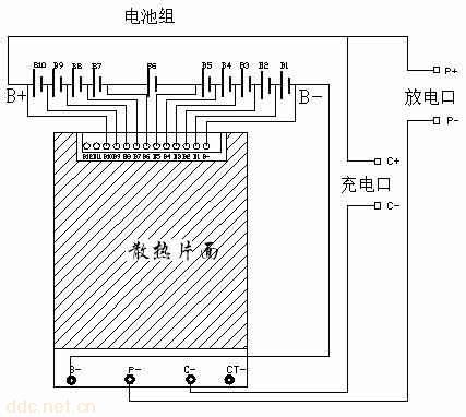 8串动力锂电池保护板,深圳保护板