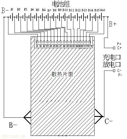 3到16串动力锂电池保护板
