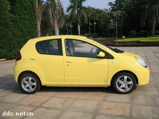 吉利熊猫纯电动汽车高清图片