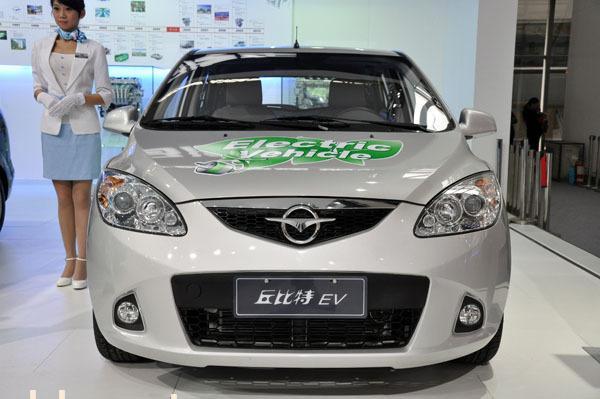海马丘比特纯电动汽车高清图片