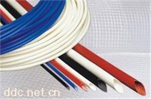 熙晓白色外胶内纤套管 蓝色4000V内纤外胶套管
