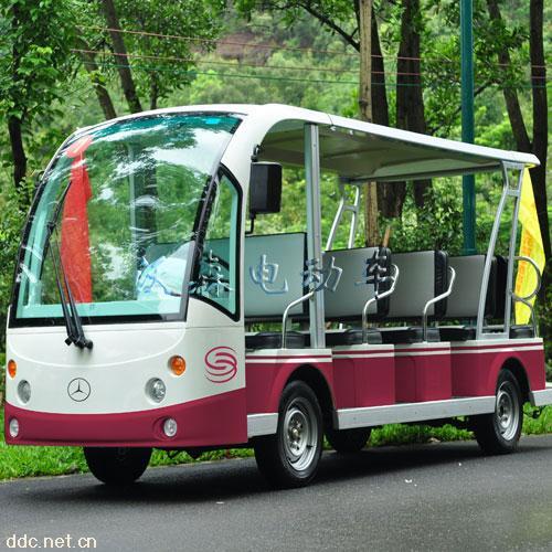 8座电动观光车带遮雨棚观光车