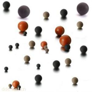 无合模线毛边 橡胶球 磨砂橡胶球