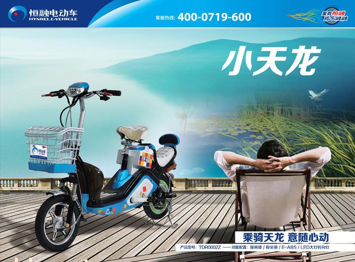 恒融简易款小天龙电动自行车
