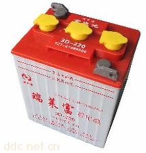 蓄电瓶3D-220及配套大功率充电机4830