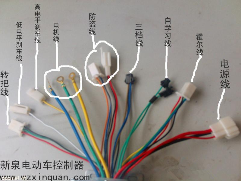 新泉无刷电动车控制器-温州新泉电器厂