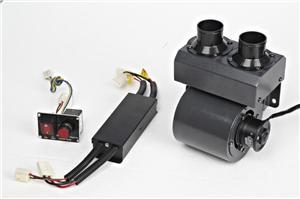 新功能大功率电动车暖风除霜器