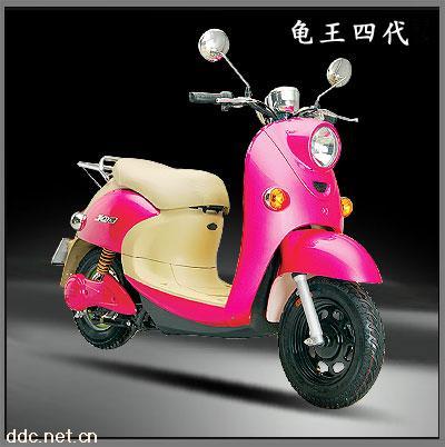 可爱金龟王,电动摩托车