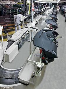电动汽车仪表台装配线