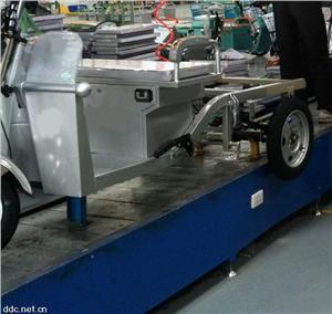 三轮电动车装配用流水线