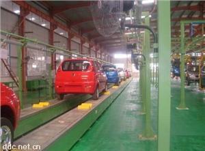 电动轿车生产线