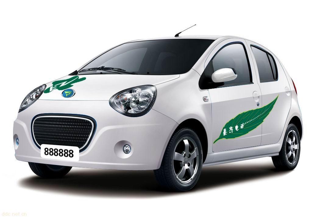 电动轿车高清图片